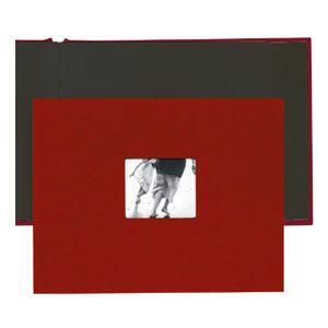 アルバム コロ(KOLO) ニューポート8.5×11 レッド アルバム 2セット No. 1002203 nomado1230
