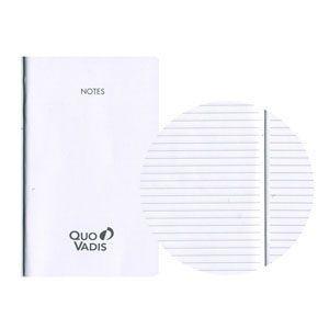 ノート クオバディス(QUOVADIS) ノートセット10x15 ホワイトペーパー ビジネス・プレーン対応 5冊込み 16枚 32ページ qvnote10x15|nomado1230