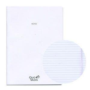 ノート クオバディス(QUOVADIS) ノートセット18x24 ホワイトペーパー トリノート・マンスリー4対応 2冊込み5セット 16枚 32ページ qvnote18x24|nomado1230