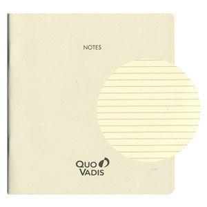 ノート クオバディス(QUOVADIS) ノートセット16x16 アイボリーペーパー エグゼクティブ・エグゼクティブノート対応 32ページ 3冊込み アイボリー qvnotep16x16|nomado1230