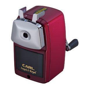 カール事務器 長期欠品中入荷未定予約受付中 鉛筆削器 レッド エンゼル5 ロイヤル A5RY-R|nomado1230