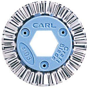 裁断用品 カール事務器 ディスクカッター ディックル 5セット B-03|nomado1230
