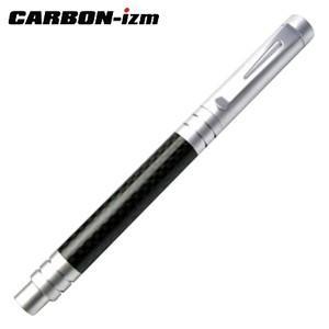 高級 ボールペン 名入れ カーボンイズム CBC ボールペン 001 シルバー/ブラック CB100-003|nomado1230