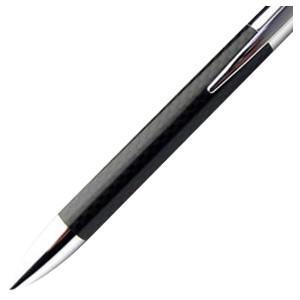 高級 ボールペン 名入れ カーボンイズム CBC ボールペン 004 クロームメッキ/ブラック CB100-006|nomado1230|02