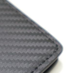 メンズ 2つ折 財布 革 カーボンイズム CSL ウォレット02 ブラック/キャメル CB100-022|nomado1230|04