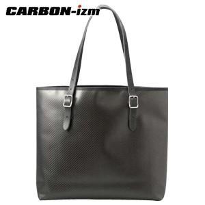 トートバッグ 革 カーボンイズム CBL トートバッグ ブラック/オレンジ CB100-051|nomado1230