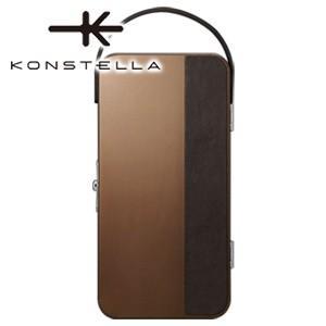 ポーチ 革 名入れ コンステラ(KONSTELLA) ポーチ ブラウン K-001BR|nomado1230