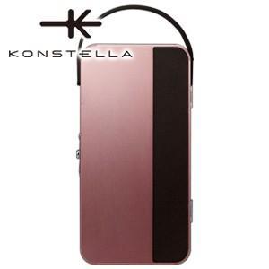 ポーチ 革 名入れ コンステラ(KONSTELLA) ポーチ ローズピンク K-001P|nomado1230