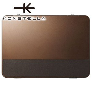 クラッチバッグ レザー コンステラ(KONSTELLA) クラッチバッグ ブラウン K-002BR|nomado1230