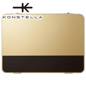 クラッチバッグ レザー コンステラ(KONSTELLA) クラッチバッグ シャンパンゴールド K-002GD|nomado1230