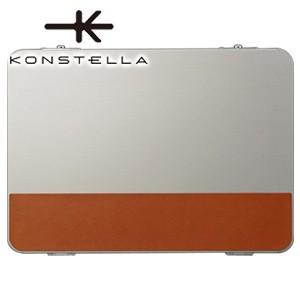クラッチバッグ レザー コンステラ(KONSTELLA) クラッチバッグ シルバー K-002SV|nomado1230