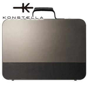 ブリーフケース 革 A4 名入れ コンステラ(KONSTELLA) ブリーフケース ブラック K-003BK|nomado1230