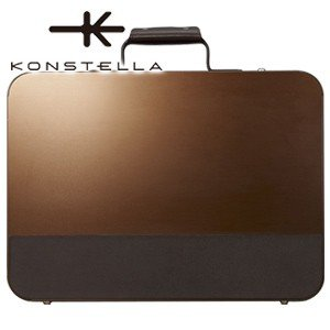 ブリーフケース 革 A4 名入れ コンステラ(KONSTELLA) ブリーフケース ブラウン K-003BR|nomado1230