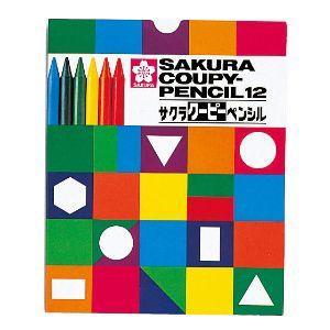 色鉛筆 セット サクラクレパス クーピーペンシル 12色 紙箱入り FY12K|nomado1230