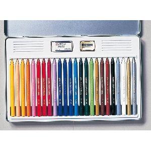 色鉛筆 セット サクラクレパス クーピーペンシル 24色 缶入り FY24|nomado1230|02
