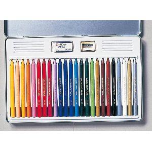 色鉛筆 セット サクラクレパス クーピーペンシル 24色 缶入り FY24|nomado1230|03