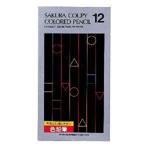 色鉛筆 セット サクラクレパス スタンダード クーピー色鉛筆 12色 紙箱入り PFY12K|nomado1230