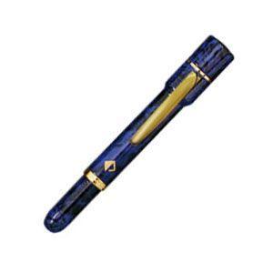 ネームペン 名入れ サンビー レヴィナG ブルー 9ミリ浸透ネーム印+黒ボールペン SP-RG04|nomado1230