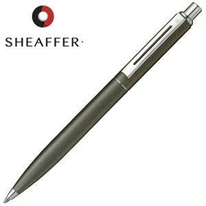 高級 ボールペン 名入れ シェーファー センチネル ボールペン スモーキーマットグレー SEN9072BP|nomado1230