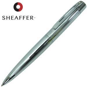 高級 ボールペン 名入れ シェーファー シェーファー 300 ボールペン ストレートラインクローム SGC9326BP|nomado1230