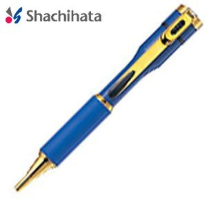 ネームペン 名入れ シャチハタ 補充インキカートリッジ1個プレゼント 対象商品 キャップレス S カラータイプ 既製タイプ 青 ボールペン TKS-BUS3|nomado1230