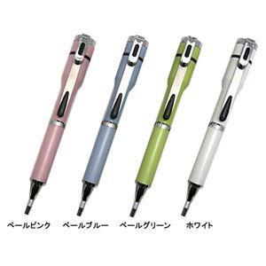 シャチハタ 補充インキカートリッジ1個プレゼント 対象商品  キャップレス S パステルカラータイプ 既製タイプ ペールグリーン ボールペン|nomado1230|03