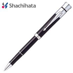 ネームペン 名入れ シャチハタ 補充インキカートリッジ1個プレゼント パーカー シグネチャー シルバーブラック 別製タイプ ボールペン TKS-PKBA1Z|nomado1230