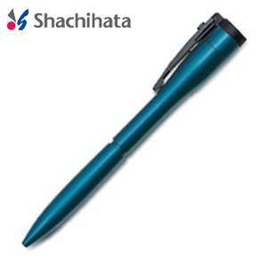 ネームペン 名入れ シャチハタ 補充インキカートリッジ1個プレゼント キャップレスエクセレント カラータイプ 既製タイプ ブルー マルチペン TKS-UXC2|nomado1230