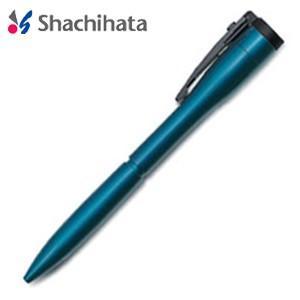 ネームペン 名入れ シャチハタ 補充インキカートリッジ1個プレゼント キャップレスエクセレント カラータイプ 別製タイプ ブルー マルチペン TKS-UXC2|nomado1230