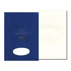 便箋 A4 ジョルジュラロ ヴェルジェ・ド・フランス A4 便箋 5個セット ホワイト No. 12700|nomado1230