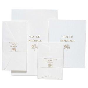 封筒 A4 ジョルジュラロ トワル・アンペリアル A4三つ折り 封筒 DL 5個セット GL23500|nomado1230