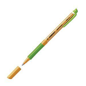 ローラーボール スタビロ ポイントビスコ ゲルローラーボールペン 10本セット リーフグリーン 1099-43|nomado1230