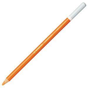 パステル色鉛筆 水彩 スタビロ カーブオテロ 水彩パステル色鉛筆 4.4ミリ 単色 12本セット オレンジ 1400-221|nomado1230