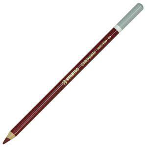 スタビロ カーブオテロ 水彩パステル色鉛筆 4.4ミリ 単色 12本セット パープル 1400-330|nomado1230