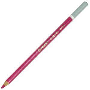 パステル色鉛筆 水彩 スタビロ カーブオテロ 水彩パステル色鉛筆 4.4ミリ 単色 12本セット マゼンタ 1400-335|nomado1230