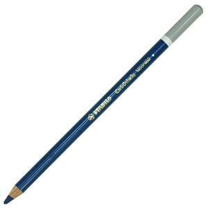 スタビロ カーブオテロ 水彩パステル色鉛筆 4.4ミリ 単色 12本セット パリジャンブルー 1400-400|nomado1230