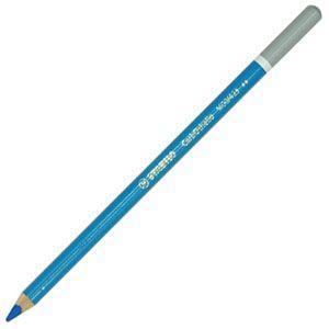 スタビロ カーブオテロ 水彩パステル色鉛筆 4.4ミリ 単色 12本セット コバルトブルー 1400-425|nomado1230