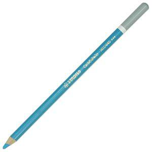 スタビロ カーブオテロ 水彩パステル色鉛筆 4.4ミリ 単色 12本セット スカイブルー 1400-440|nomado1230