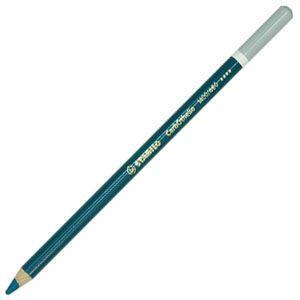 パステル色鉛筆 水彩 スタビロ カーブオテロ 水彩パステル色鉛筆 4.4ミリ 単色 12本セット ターコイズブルー 1400-460|nomado1230