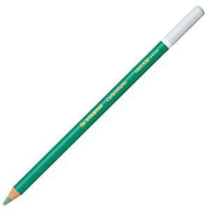 パステル色鉛筆 水彩 スタビロ カーブオテロ 水彩パステル色鉛筆 4.4ミリ 単色 12本セット グリーン 1400-530|nomado1230