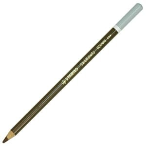 パステル色鉛筆 水彩 スタビロ カーブオテロ 水彩パステル色鉛筆 4.4ミリ 単色 12本セット ローアンバー 1400-610|nomado1230