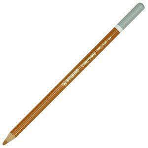 パステル色鉛筆 水彩 スタビロ カーブオテロ 水彩パステル色鉛筆 4.4ミリ 単色 12本セット バーントオーカー 1400-620|nomado1230