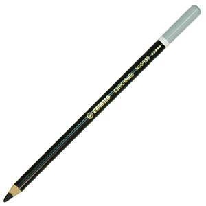 パステル色鉛筆 水彩 スタビロ カーブオテロ 水彩パステル色鉛筆 4.4ミリ 単色 12本セット ナチュラルブラック 1400-750 nomado1230