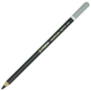 パステル色鉛筆 水彩 スタビロ カーブオテロ 水彩パステル色鉛筆 4.4ミリ 単色 12本セット ぺニーズグレー 1400-770 nomado1230