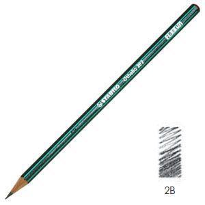 鉛筆 スタビロ オテロ鉛筆 2B 12本セット 282-2B nomado1230