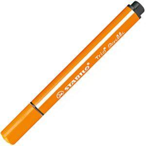 マーカー スタビロ トリオペン スクリビ 1.5〜2.0ミリ 5セット オレンジ 368-954|nomado1230