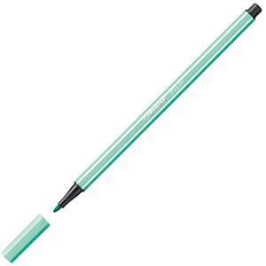ファイバーチップペン スタビロ ペン68 ファイバーチップペン 10セット アイスグリーン 68-13|nomado1230