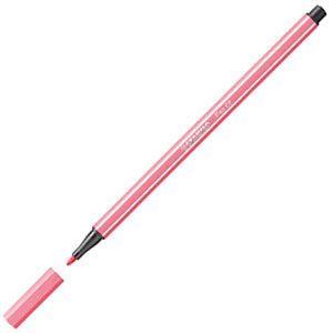 ファイバーチップペン スタビロ ペン68 ファイバーチップペン 10セット ピンク 68-29|nomado1230