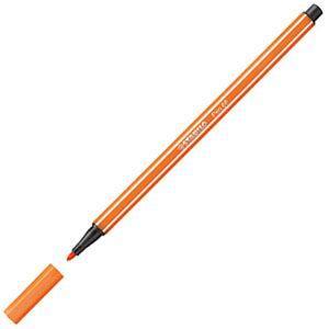 ファイバーチップペン スタビロ ペン68 ファイバーチップペン 10セット ペイルバーミリオン 68-30|nomado1230