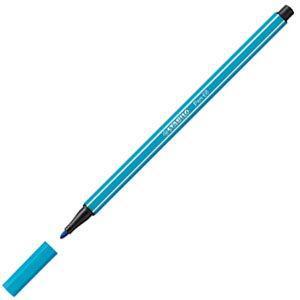 スタビロ ペン68 ファイバーチップペン 10セット ライトブルー 68-31|nomado1230